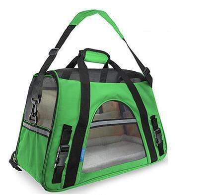 Breathable Pet Carrier Bag dark green / S Breathable Pet Carrier Bag
