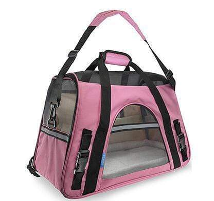 Breathable Pet Carrier Bag pink / S Breathable Pet Carrier Bag