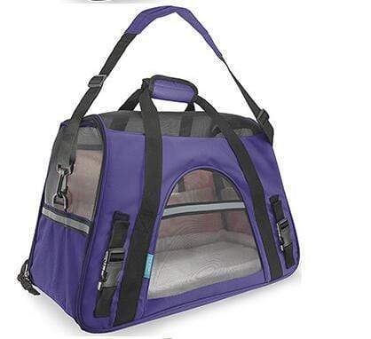 Breathable Pet Carrier Bag purple / S Breathable Pet Carrier Bag