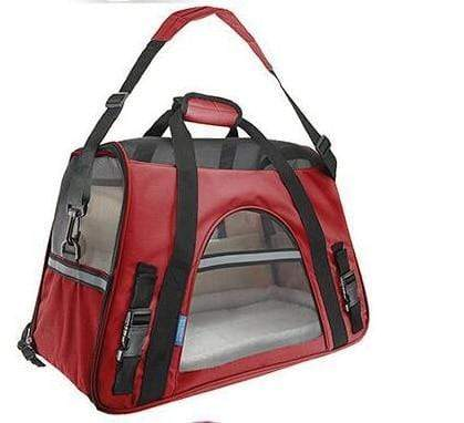 Breathable Pet Carrier Bag red / S Breathable Pet Carrier Bag