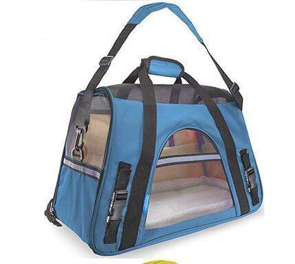 Breathable Pet Carrier Bag sky blue / S Breathable Pet Carrier Bag
