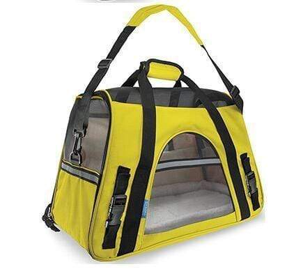 Breathable Pet Carrier Bag yellow / S Breathable Pet Carrier Bag