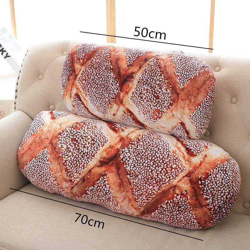 Butter / 20 inches Super Bread Pillows