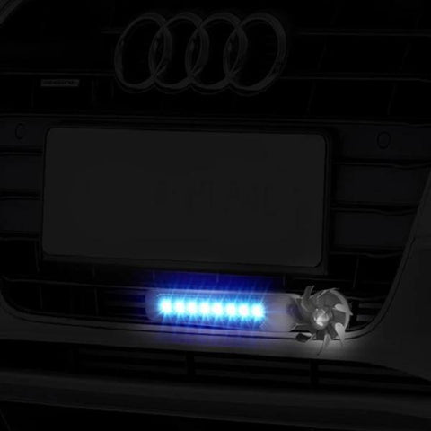 Image of Car Decoration Lights Automatic Wind Power 8 LED Car Light One Set of 2 PCS