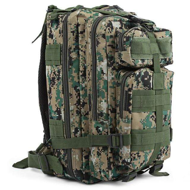 DIGITAL JUNGLE CAM / 30 - 40L Military Rucksack