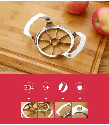 Image of Easy Apple Slicer - Stainless Steel