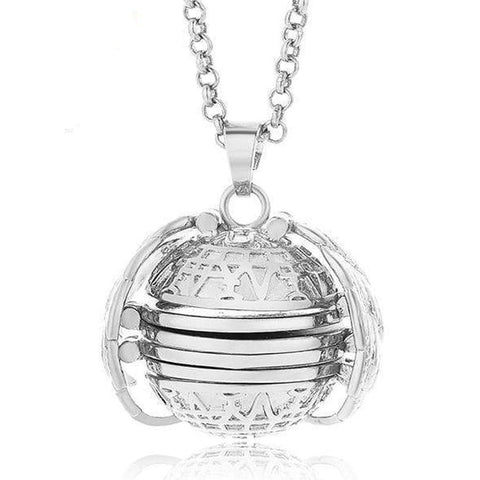 Expanding Photo Locket Platinum Expanding Photo Locket