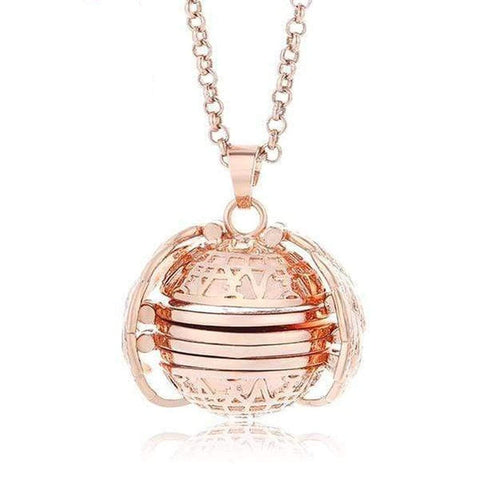 Expanding Photo Locket Rose Gold Expanding Photo Locket