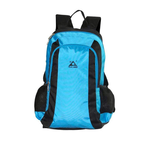 Image of Folding Seat Travel Backpack Blue Color Folding Seat Travel Backpack