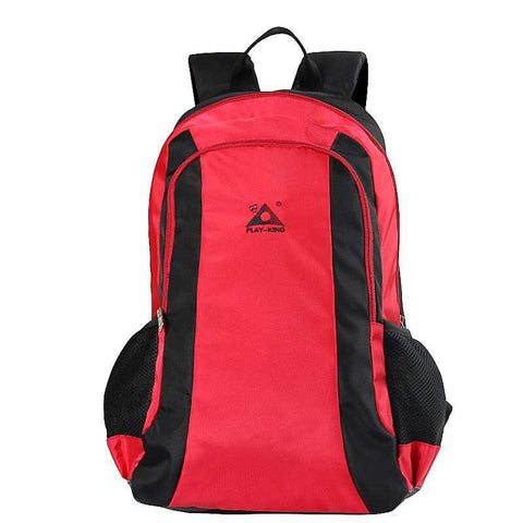 Image of Folding Seat Travel Backpack Red Color Folding Seat Travel Backpack