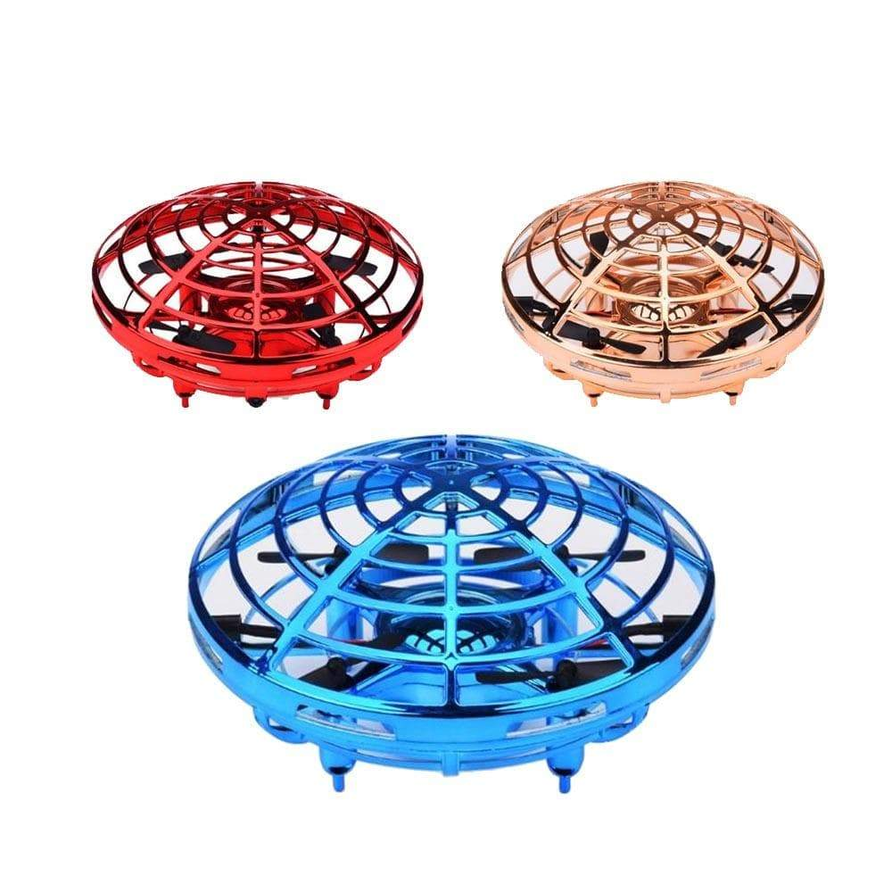 GO FLY UFO DRONE Mini UFO Drone Anti-collision Flying Toy