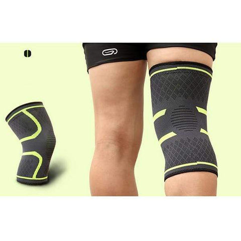Image of Green / XL Compression Knee Support Sleeve Brace