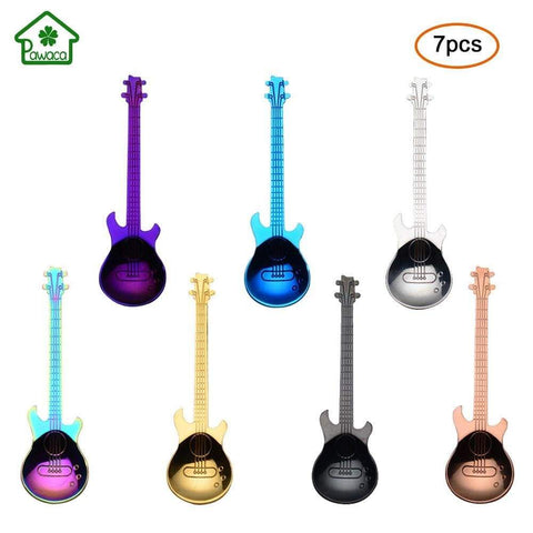 guitar spoon 7Pcs Guitar Spoon Set