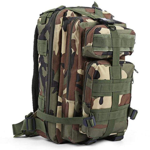 Image of JUNGLE CAMOUFLAGE / 30 - 40L Military Rucksack