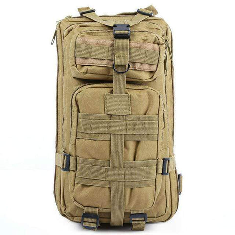 Image of KHAKI / 30 - 40L Military Rucksack