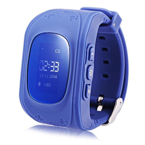 Image of Kids GPS Tracker Watch BLUE / United States Kids GPS Tracker Smart Watch
