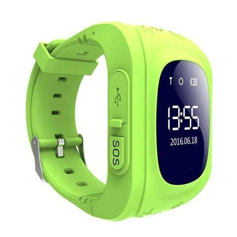 Image of Kids GPS Tracker Watch GREEN / United States Kids GPS Tracker Smart Watch