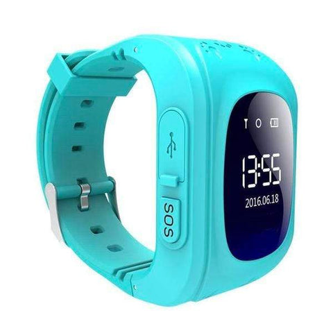 Kids GPS Tracker Watch LIGHT BLUE / United States Kids GPS Tracker Smart Watch