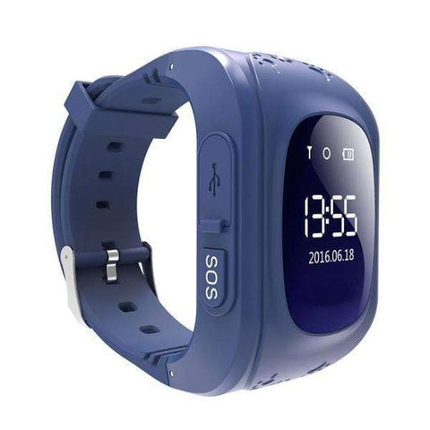 Image of Kids GPS Tracker Watch NAVY BLUE / United States Kids GPS Tracker Smart Watch