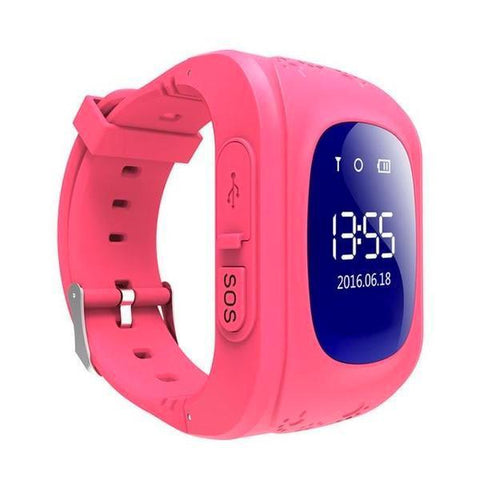 Image of Kids GPS Tracker Watch PINK / United States Kids GPS Tracker Smart Watch