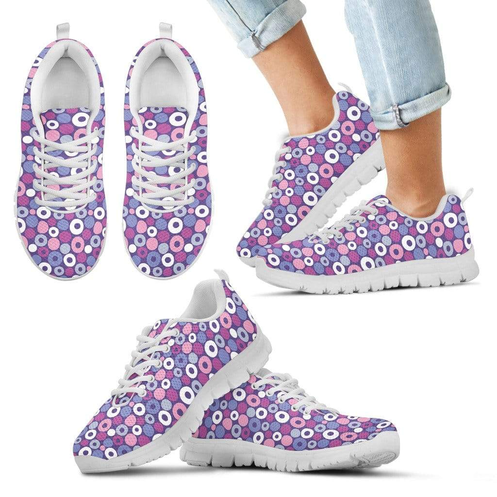 Kids Sneakers Kid's Sneakers - White - Purple Candy - Kids Sneakers / 11 CHILD (EU28) Purple Candy - Kids Sneakers