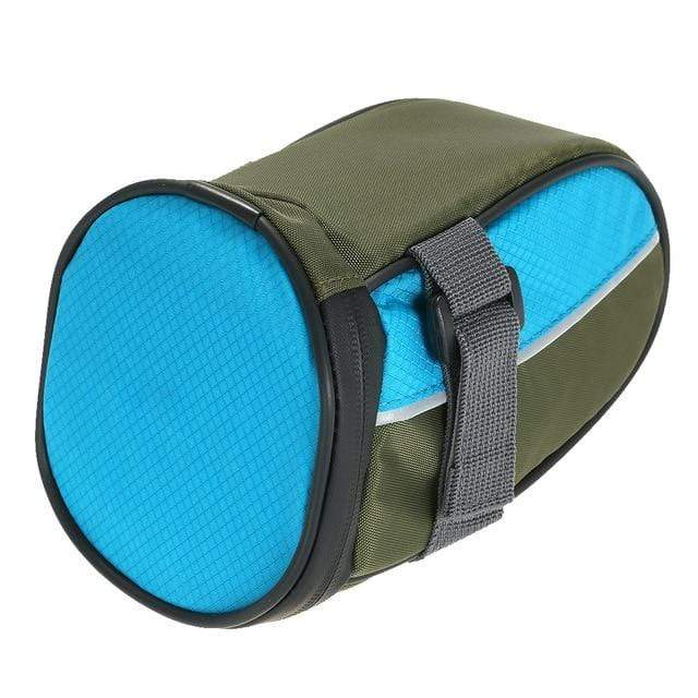 LED Cycling Saddle Bag Blue LED Cycling Saddle Bag