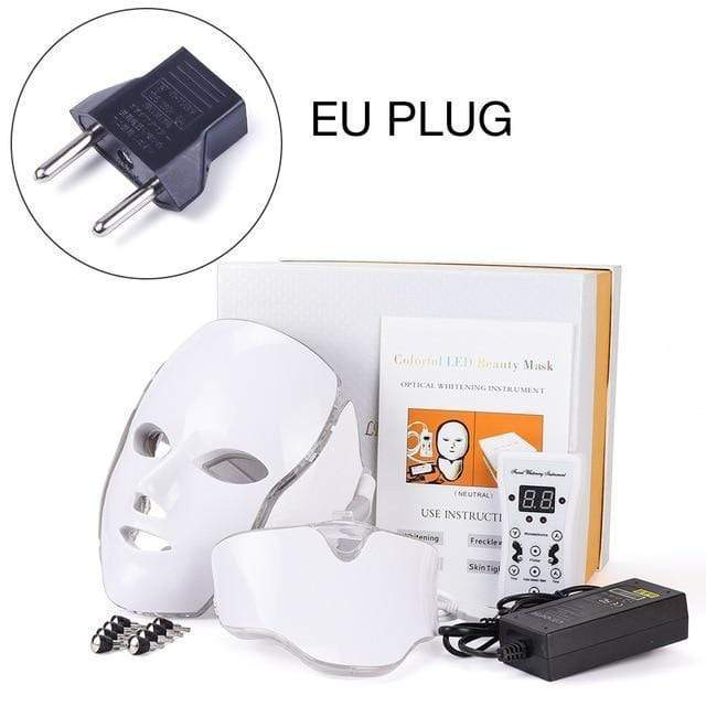 LED Facial Mask Therapy EU Plug LED Facial Mask Therapy