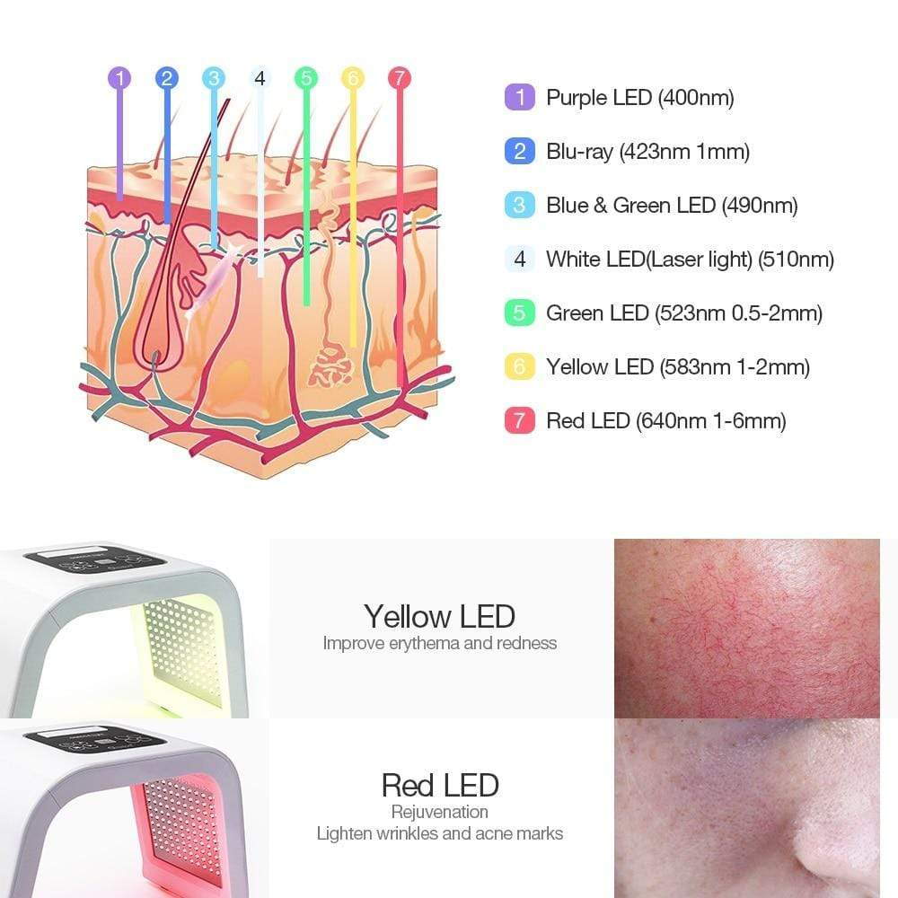 Led Light Therapy LED Mask AU Plug Led Light Therapy LED Mask