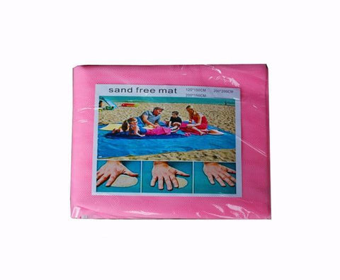 Image of Magic Sand Mat pink / 6.5ft x 6.5ft Magic Sand Mat