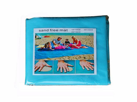 Image of Magic Sand Mat sky blue / 6.5ft x 6.5ft Magic Sand Mat