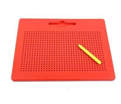 Image of Magnetic Drawing Doodle Pad Red Big Magnetic Drawing Doodle Pad
