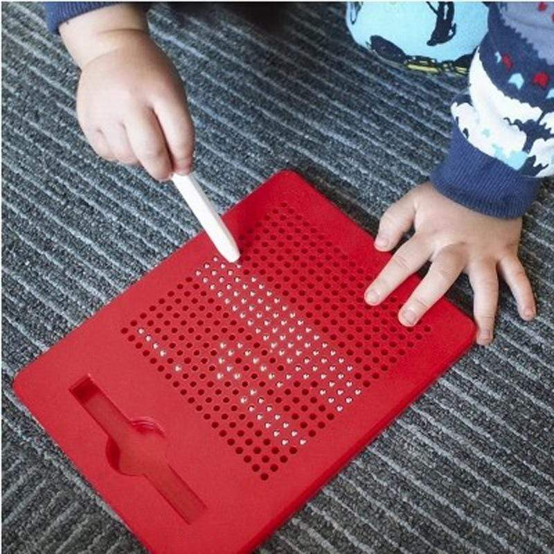 Magnetic Drawing Doodle Pad Red Small Magnetic Drawing Doodle Pad