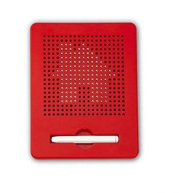 Image of Magnetic Drawing Doodle Pad Red Small Magnetic Drawing Doodle Pad