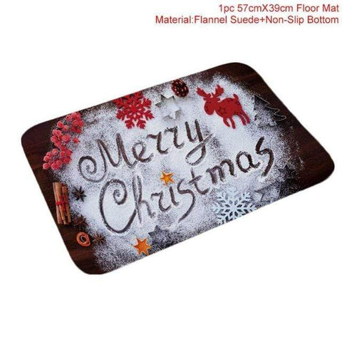 Image of Merry Christmas Mat1 Merry Christmas Floormats