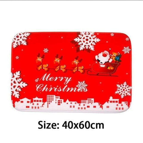 Image of Merry Christmas Mat3 Merry Christmas Floormats