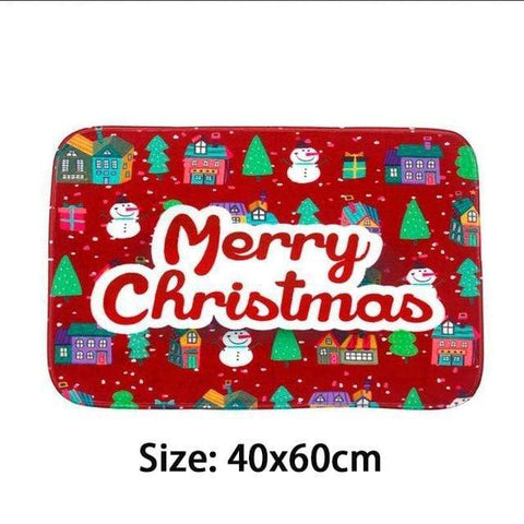 Image of Merry Christmas Mat4 Merry Christmas Floormats