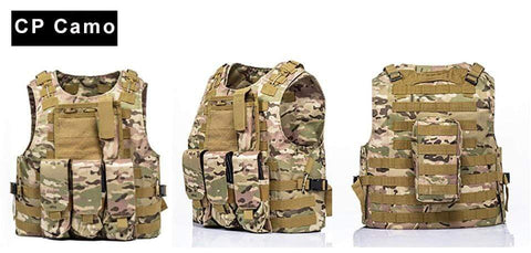 Image of Military Modular Tactical Vest ACU Camo Military Modular Tactical Vest