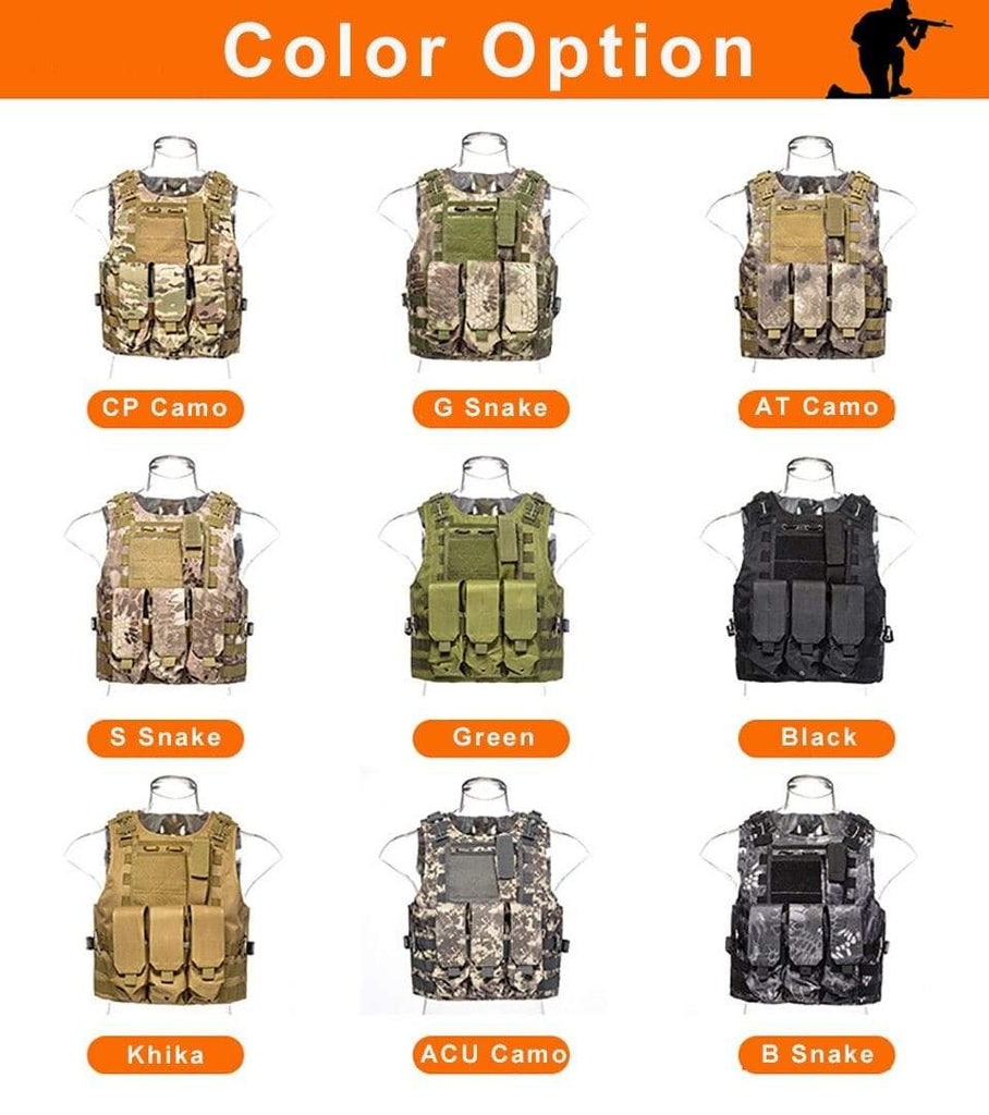 Military Modular Tactical Vest ACU Camo Military Modular Tactical Vest