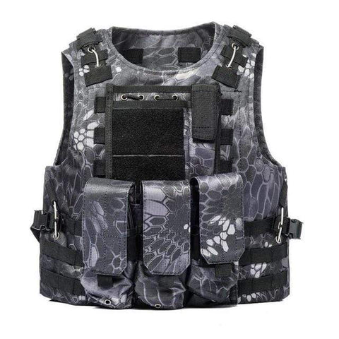 Image of Military Modular Tactical Vest B Snake Military Modular Tactical Vest
