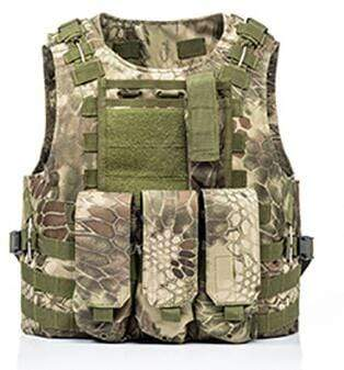 Image of Military Modular Tactical Vest G Snake Military Modular Tactical Vest