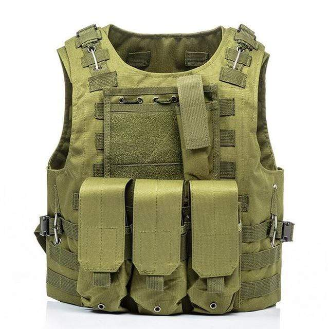 Military Modular Tactical Vest Green Military Modular Tactical Vest