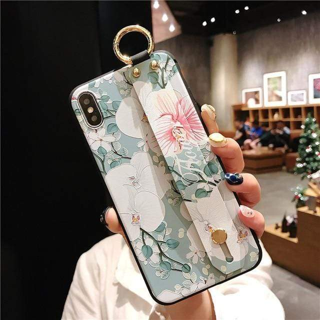 Mosaic vintage iphone case Vintage iPhone Cases With Strap