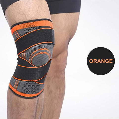 Image of Orange / S Pressurized Knee Support Brace 3D - All Sizes