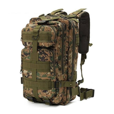Outdoor Backpack army green 1 / 30 - 40L Best Waterproof Backpack Outdoor Tactical Rucksack Bag