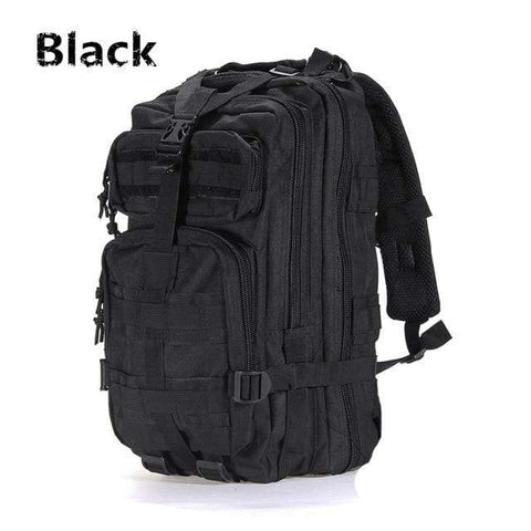 Outdoor Backpack Black / 30 - 40L Best Waterproof Backpack Outdoor Tactical Rucksack Bag