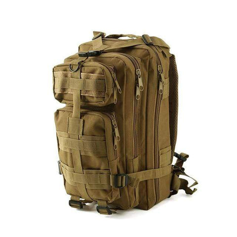 Outdoor Backpack tan 1 / 30 - 40L Best Waterproof Backpack Outdoor Tactical Rucksack Bag