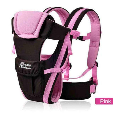 Image of Pink 0-30 Months Breathable  4 in 1  Baby Carrier