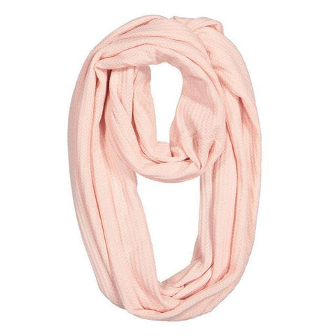 Image of Pink Convertible Scarf with Pocket