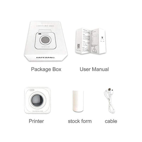 Portable Bluetooth Printer Portable Bluetooth Pocket Printer