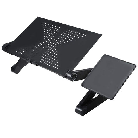 Image of portable laptop desk Black Portable Laptop Desk